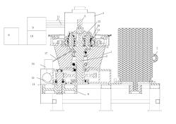 豫晖公司推出一种自动润滑冷却的稻壳颗粒机主机